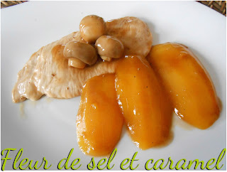 Filet de dinde à la mangue et balsamique