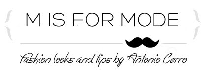 M IS FOR MODE - Fashion Blog