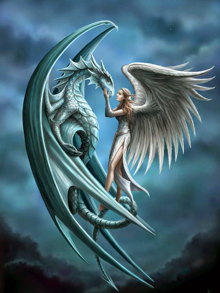 Dragon And Angel
