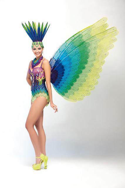 Srta. Colombia 2011-2012. Desfile en traje artesanal Valle: Melina Ramírez Serna