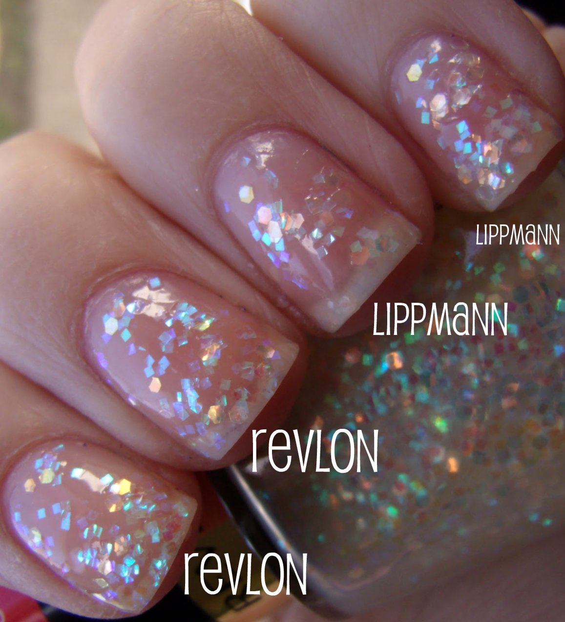 Obsessive Cosmetic Hoarders Unite!: Revlon Heavenly Nail Polish VS ...