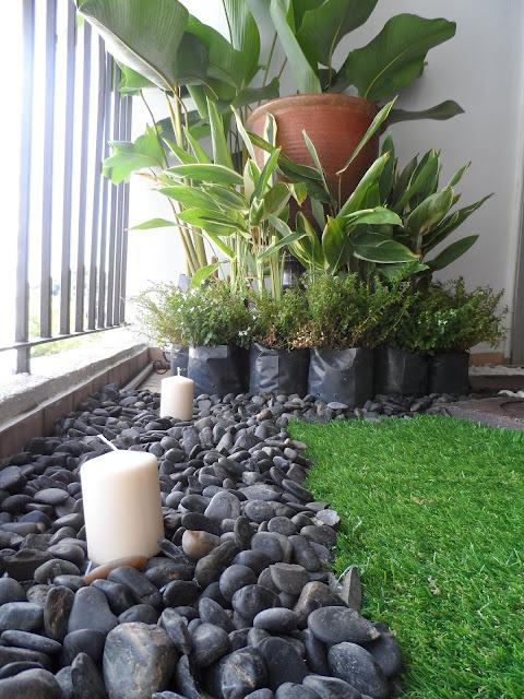 Mini garden di balkoni elemen hijau dalam rumah the for Idea untuk garden