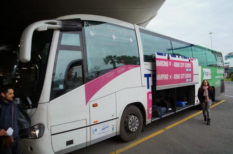 terravision, bus aeropuerto, fiumicino a roma