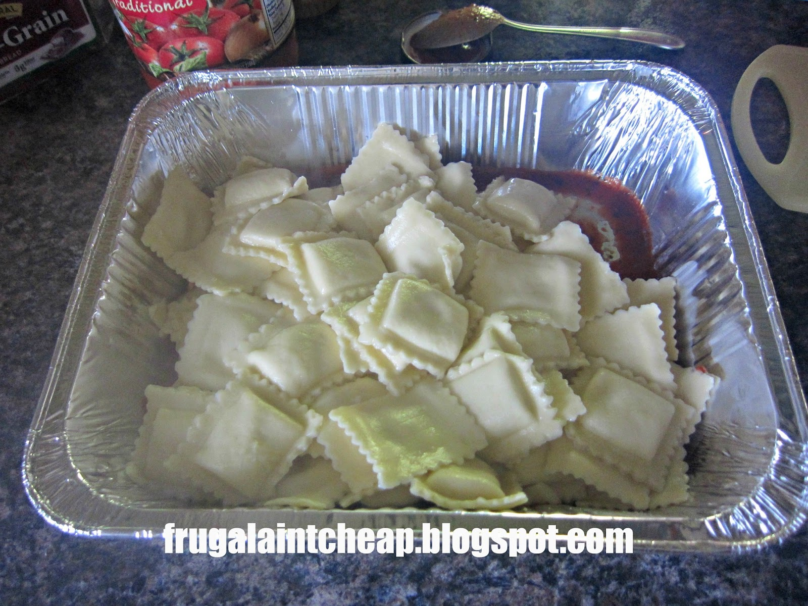 Frugal Ain't Cheap: Inside Out Lasagna