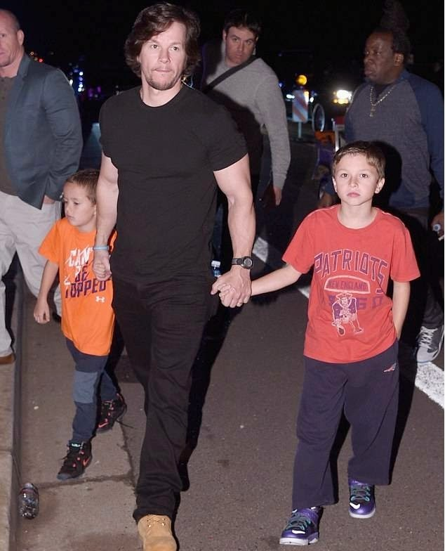 Mark Wahlberg and Sons February 2015