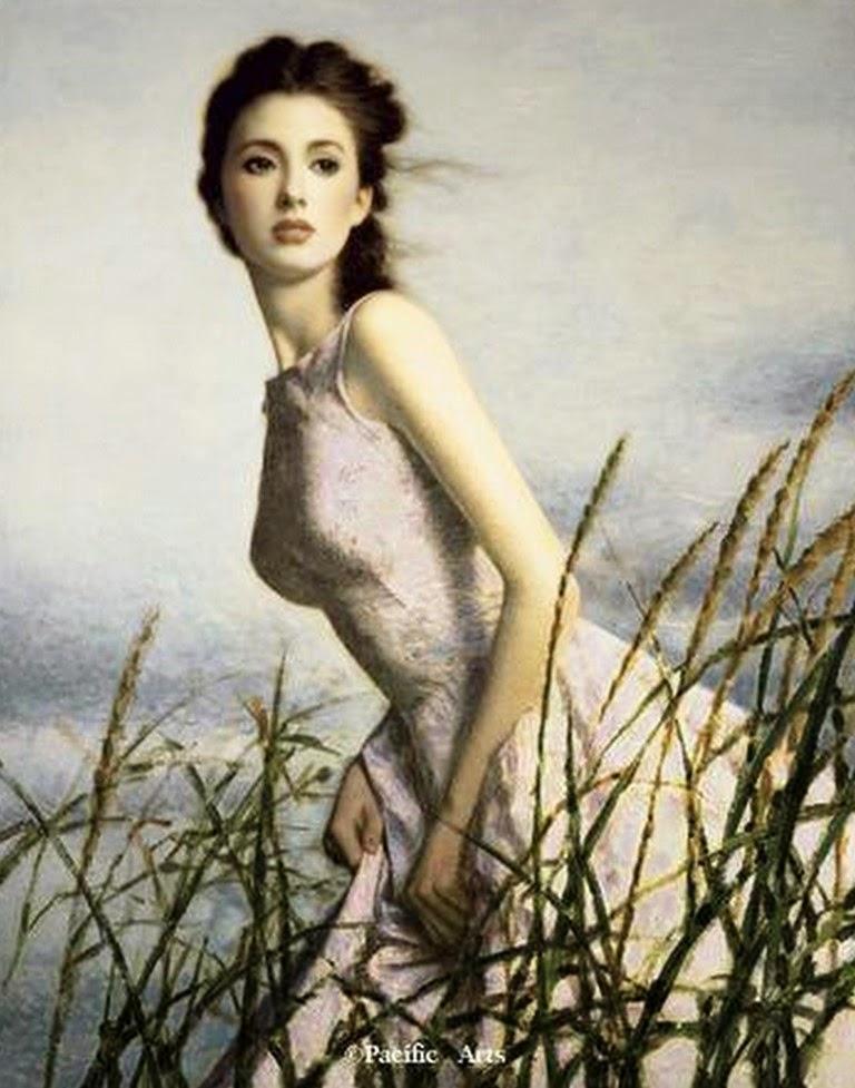 mujeres-bonitas-pintadas-al-oleo