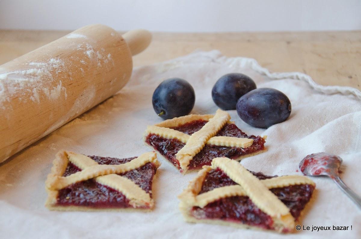 Recette - tarte - prunes