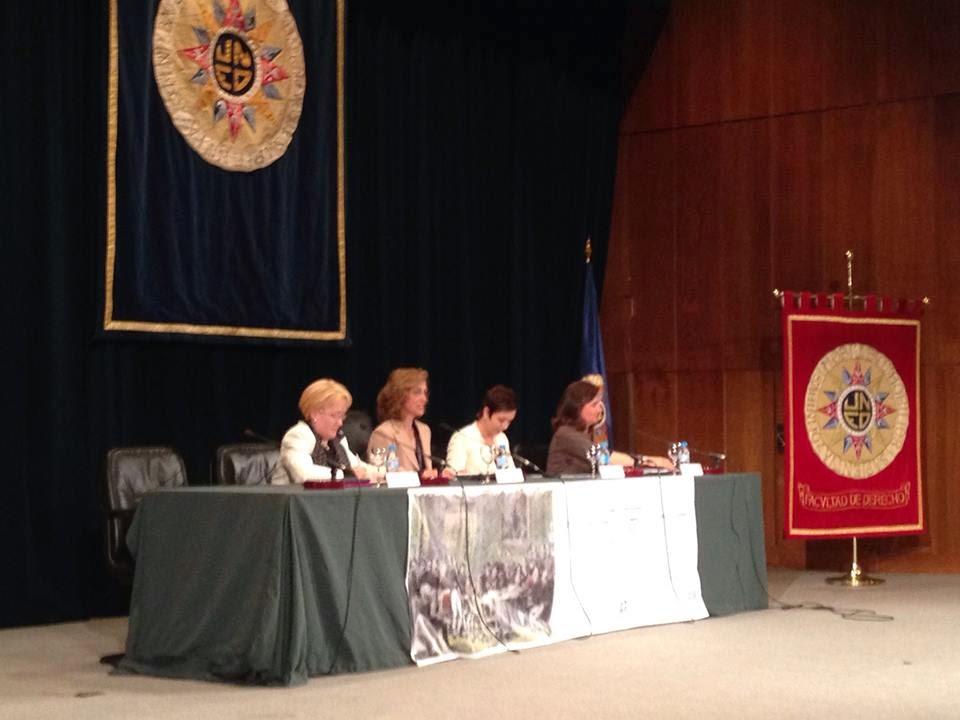 Olga Casal en Congreso Protocolo UNED 2014
