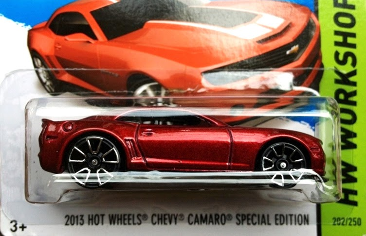 New cars from 2014 Hot Wheels line in their packages!
