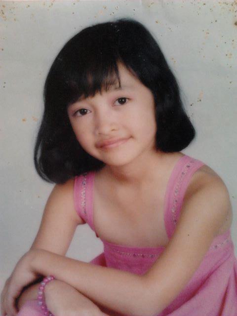 Foto Kinal JKT48 saat TK atau SD