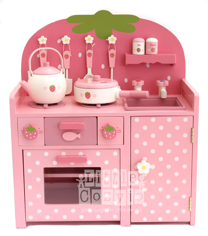Pink Kitchen Playset