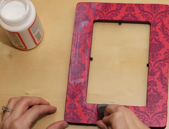 Как украсить деревянную рамку для фотографий своими руками фото любимому
