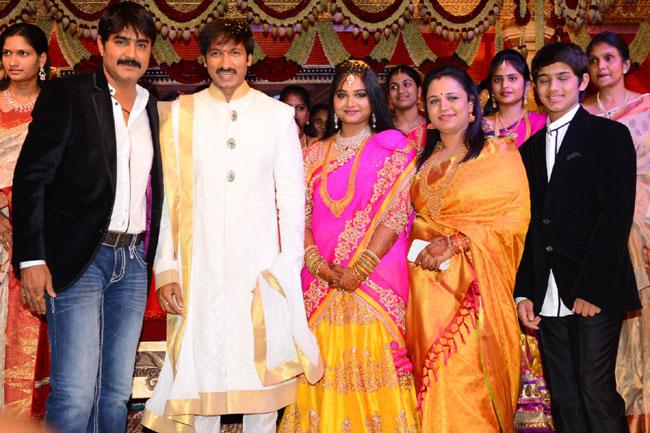 gopichand reshma marriage photos12