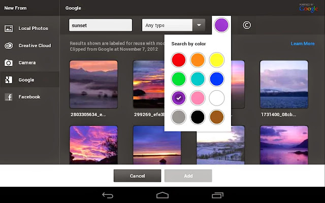 Android Adobe Photoshop Touch Apk resimi 3