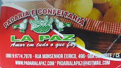 PADARIA LAPAZ,DISTRBUI PÃES  PARA TODO CEARÁ