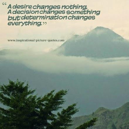 Determination Inspirational Quote