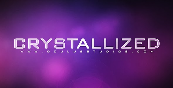 VideoHive Crystallized Logo Reveal