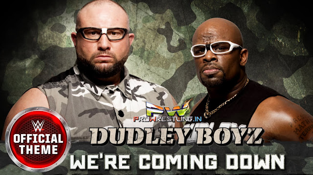 "Download WWE Dudley Boyz's Official Theme Song ""We're Coming Down"" Free Mp3 bubba ray dudley wwe 2015 2016 dvon dudley 2015 2016 theme wwe song wwe mp3 download m4a itunes mp3 wwe 2016 theme song"