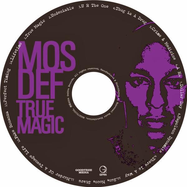 Mos Def - True Magic Cover