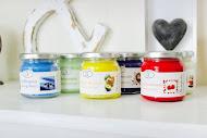 Underbara handgjorda doftljus från Klockargårdens