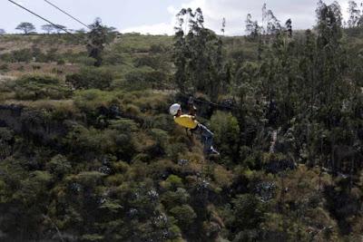 Tour aventura extrema turística en Quito Ecuador