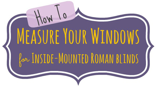 roman blind making instructions