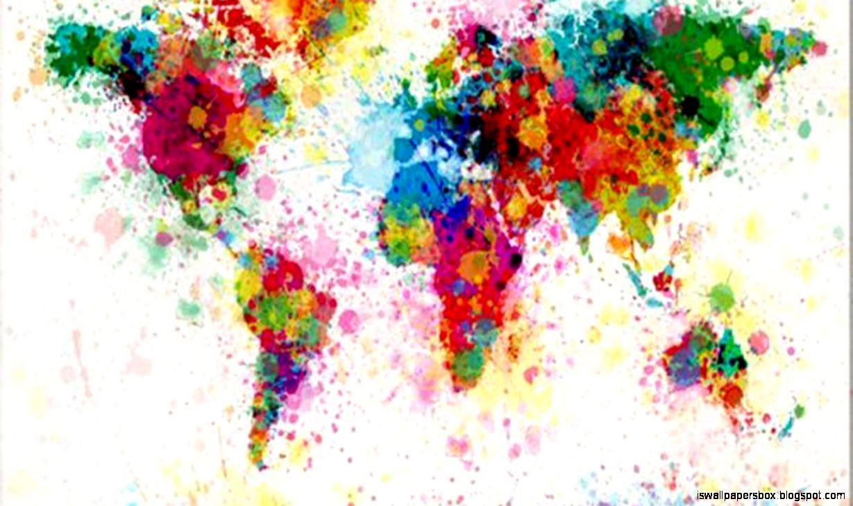 Abstract world map paint hd wallpaper wallpapers box view original size abstract world map paint hd wallpaper inspiration wallpapers gumiabroncs Gallery