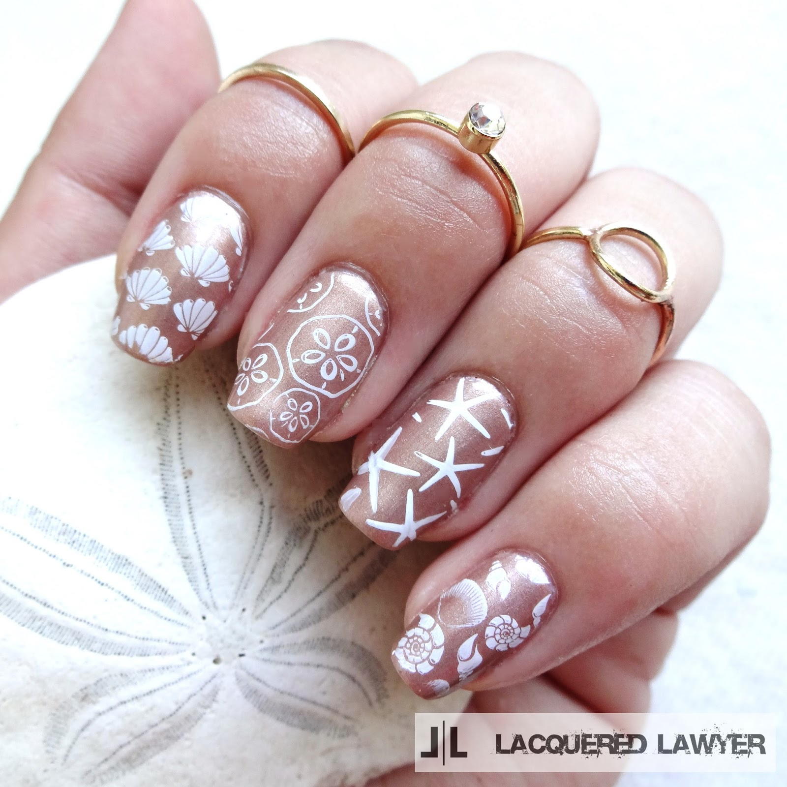 Seashell Nail Art