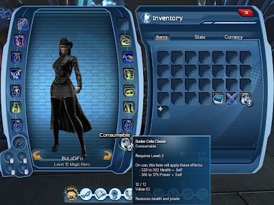 DC Universe Online - Consumables Slot