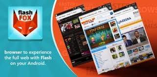 المتصفح  فوكس FlashFox للاندرويد