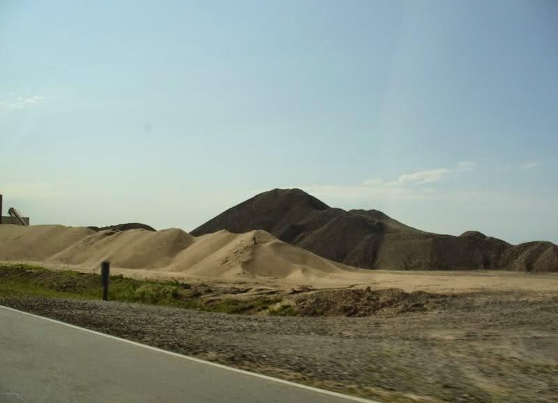 acopio de arena