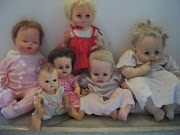 . that I find myself drawn toward vintage baby dolls. Some are my own, . (may )