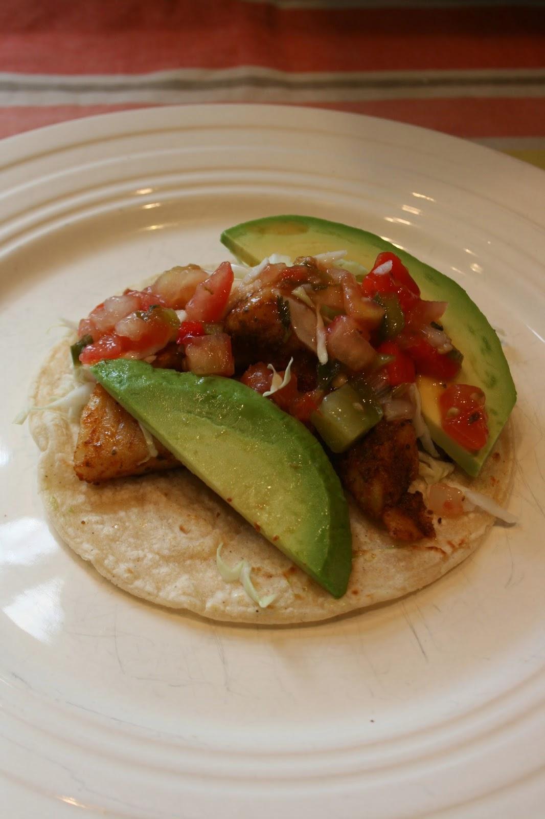 SIMPLE FOUND TREASURES: Simple Fish Tacos
