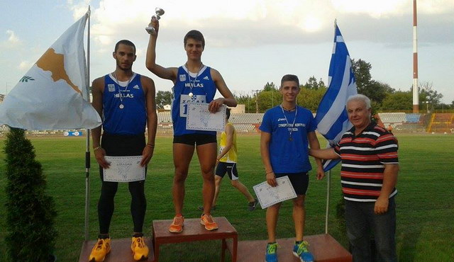 «Χρυσός» στα 110 μ. εμπόδια ο νεαρός Γιώργος Σιταρίδης του Εθνικού Αλεξανδρούπολης