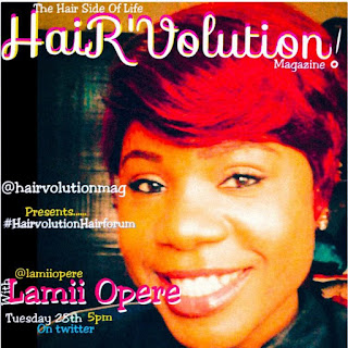 MY HAIR IS BASICALLY MY MOOD AND MY PERSONALITY- LAMI OPERE