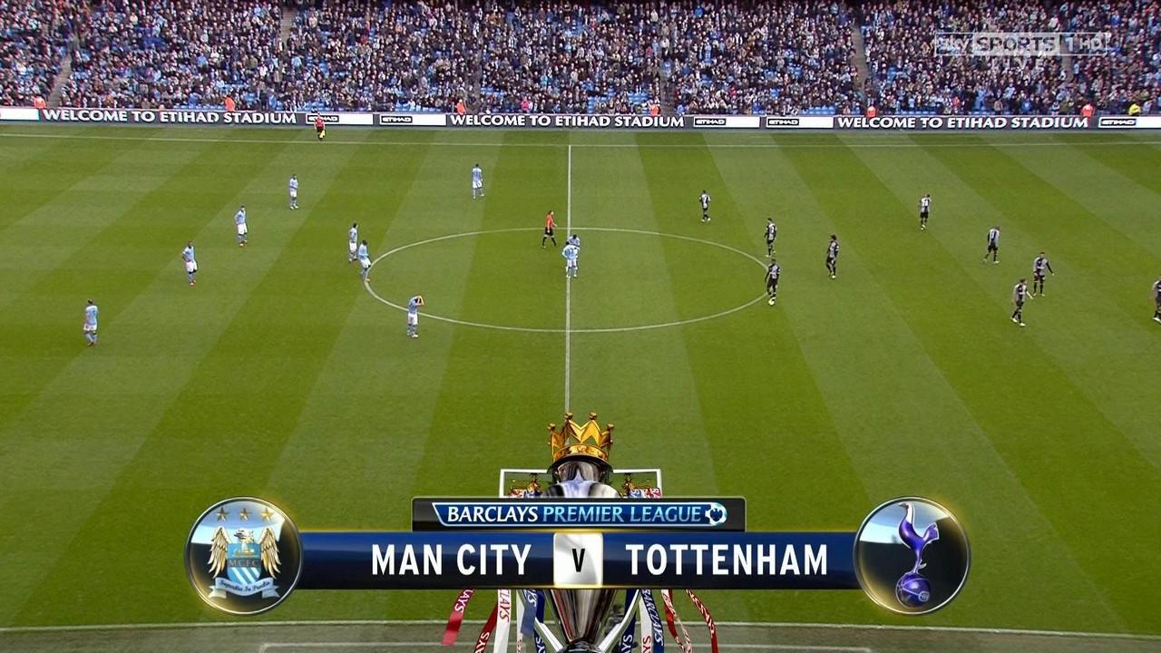 manchester city vs tottenham premier league full match  hd