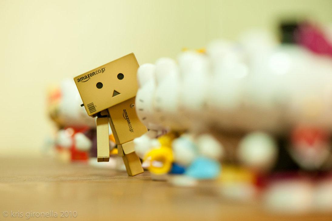 Danbo  Boneka Kardus Dengan Jiwa