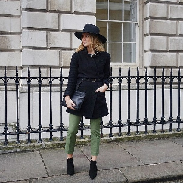 London Fashion Week 2015 - Fashion Bloggers Street Style