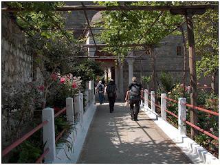 Atos. Ulaz u Grigorijat.
