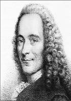 Retrato de Voltaire cuento la nariz