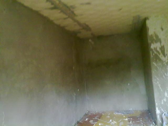 очищенная стена от старых обоев