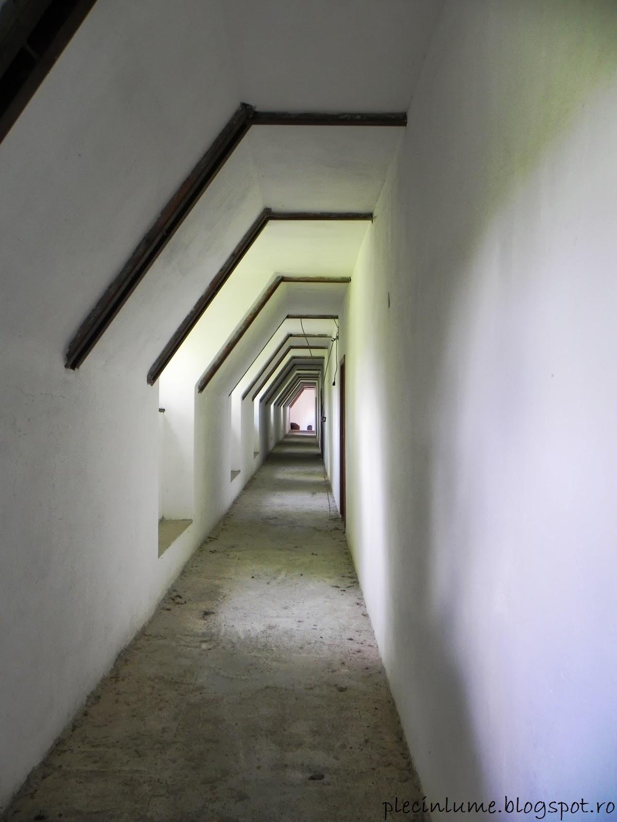 Ultimul etaj renovat al castelului