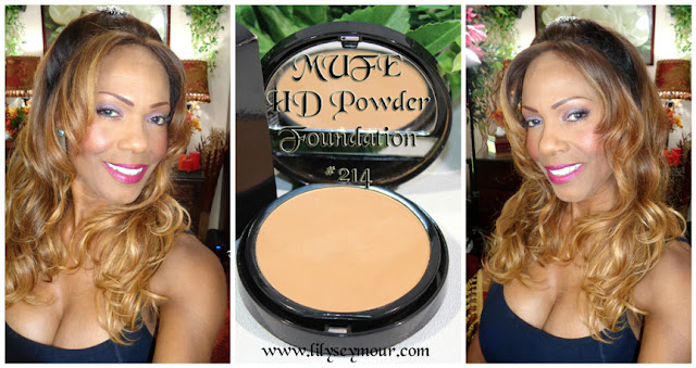 MUFE Duo Mat HD Powder Foundation