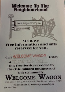 Image Welcome Wagon Poster