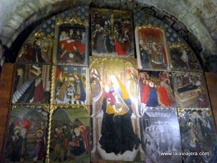 Retablo Iglesia Arties, Romanico Aran