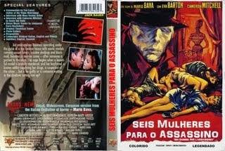 SEIS MULHERES PARA O ASSASSINO