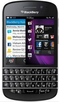 Harga HP Blackberry Q10