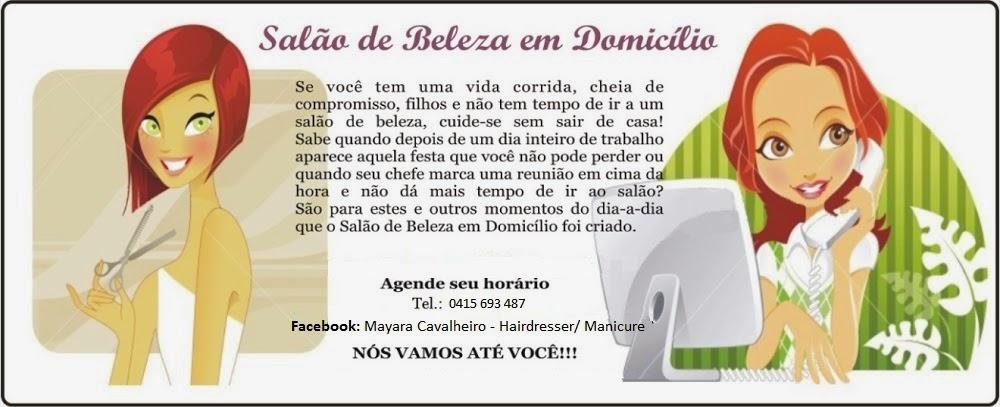 Salão de Beleza em Domicílio By Mayara Cavalheiro