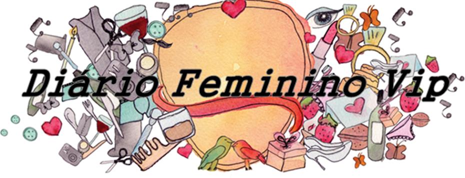 Diário Feminino Vip