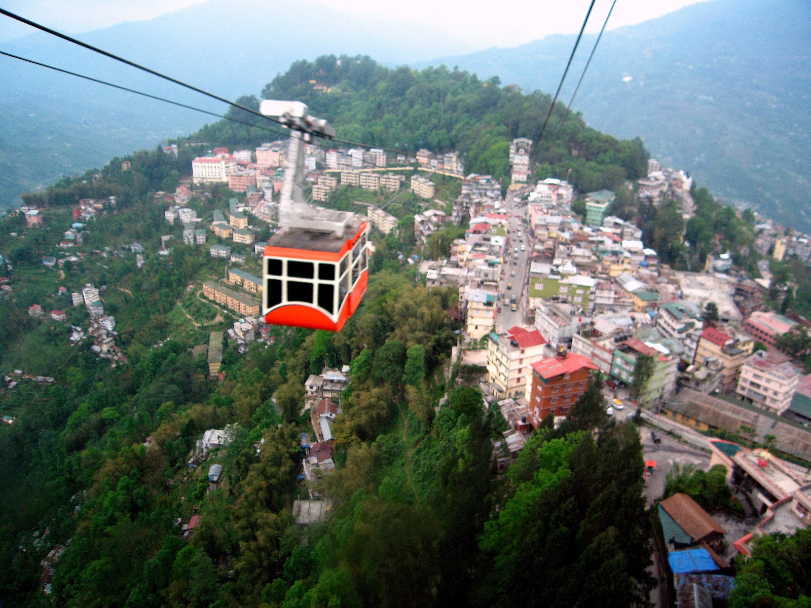 Gangtok India  city photos gallery : Cable car of Gangtok